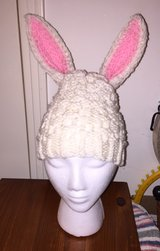 Handmade Knitted Easter Bunny Hat in Fort Campbell, Kentucky