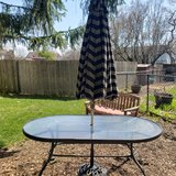 Patio Table with Umbrella in St. Charles, Illinois