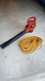 Craftsman electric blower & extension cord in Okinawa, Japan