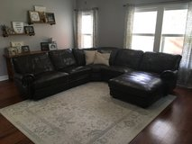 5-Piece Leather Sectional in Camp Lejeune, North Carolina