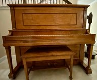 Upright Piano and Bench in Kingwood, Texas