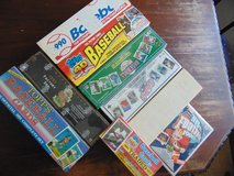 UNOPENED Vintage Baseball and Football Card Collection, See details below in Sandwich, Illinois