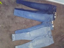 Hollister and Gap Jeans in St. Charles, Illinois