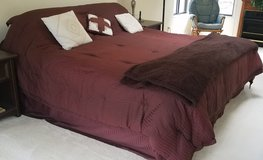 King bed and bedding   Great shape! in Elizabethtown, Kentucky