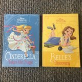 Disney Princess Beginnings - Belle and Cinderella- 2 books! in Chicago, Illinois