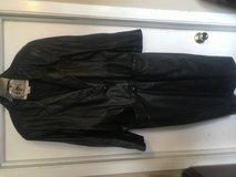 Leather coat womans xl in Chicago, Illinois