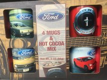 Vintage Ford Mustang coffee mug set in Chicago, Illinois