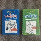 2 Diary of a Wimpy Kid Books - Hardcovers! in Chicago, Illinois