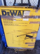 Dewalt DW746 Extension Table in Camp Lejeune, North Carolina