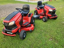 Two Brand New Craftsman 50 Inch Cut Riding Lawn Mowers! in Macon, Georgia
