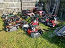 2 Murray rider mowers,12 walk behind push mowers in Clarksville, Tennessee