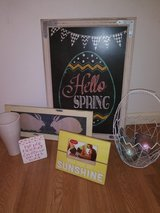 Easter home decor in Kingwood, Texas