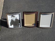 "THREE 8 X 10 "" PICTURE FRAMES in St. Charles, Illinois"