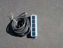 FIVE OUTLET TERMINAAL STRIP / 15 FOOT CORD in Aurora, Illinois