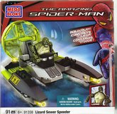 Mega Bloks 91338  The Amazing Spider-Man  Lizard Sewer Speeder in Joliet, Illinois