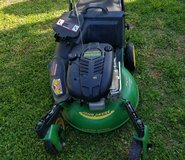John Deere self propelled lawn mower in Fort Campbell, Kentucky