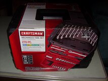 270 pc. craftsman three drawer tool set - new in Elizabethtown, Kentucky