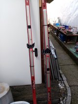 Giving away skis in Ramstein, Germany