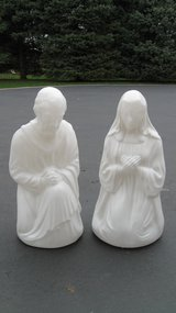 Blow Molds  ( Mary & Joseph ) in Joliet, Illinois
