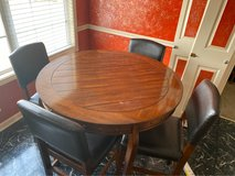 Gently used high table and 4 chairs in Fort Campbell, Kentucky
