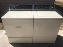 Whirlpool washer and electric dryer set(2) in Alamogordo, New Mexico