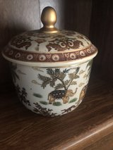 Oriental jar with lid in Fort Leonard Wood, Missouri