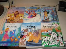 Lot of 6 Walt Disney gallery books cinderella pocahontas hercules lion king 101 dalmations in Fort Campbell, Kentucky