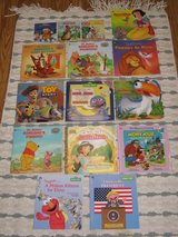 lot of 23 Disney Sesame Street Winnie the Pooh books Aladdin Lion King in Fort Campbell, Kentucky