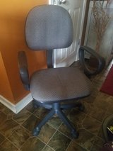 Gray / Swivel Office Chair in Fort Campbell, Kentucky