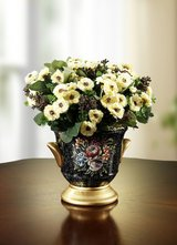 Decoration Flowers with pot in Ramstein, Germany