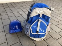 Baseball Bag and Helmet in Kansas City, Missouri