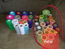 Mixed lot of craft tulle some new some used in Batavia, Illinois