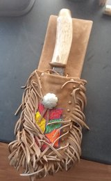Hand made hunting knife and sheath in Alamogordo, New Mexico