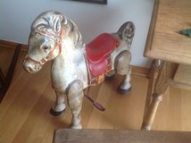 Mobo English Metal Toy Riding Horse in Naperville, Illinois