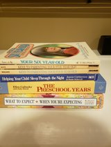 Lot of 6 parenting books in Naperville, Illinois