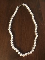 Faux Pearl Choker Necklace in Yorkville, Illinois