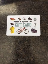 $80 Gift Card Pedal and Spoke in Cary, North Carolina