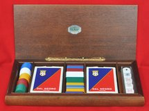 Dal Negro game set box, from Italy in Okinawa, Japan