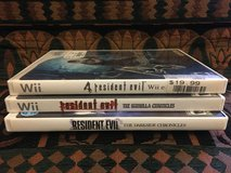 Wii Games - 3 Resident Evil Video Games in Chicago, Illinois