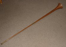 OLD COPPER/BRASS HUNTING HORN 49 INCH LONG in Lakenheath, UK