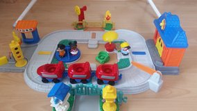 Little People train, Bus, Airplane and playground in Ramstein, Germany