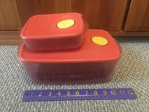 Tupperware Vent n Serve Containers - 2 sizes in Naperville, Illinois