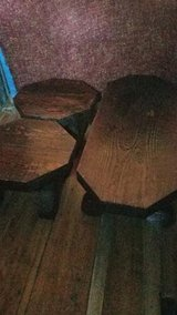 Dark / Solid Wood / Knotty Pine 3 Piece Coffee & End Table Set in Fort Campbell, Kentucky