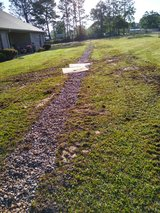French Drain in Fort Polk, Louisiana
