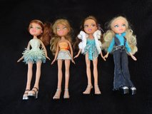 4 Bratz Dolls in Lakenheath, UK
