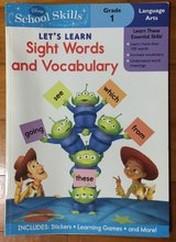 NEW Sight Words and Vocabulary Disney Toy Story version Grade1 in Okinawa, Japan