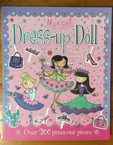 NEW My Giant Dress-up Doll Book in Okinawa, Japan