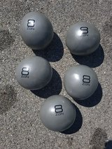 Weighted Medicine Balls / Slam Balls 8lbs (only 2 left) in Chicago, Illinois