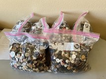 1 Gallon Size Bags of Vintage Sewing Buttons in Yucca Valley, California