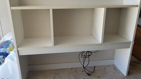 White Tabletop Shelf with Light in Plainfield, Illinois